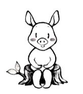 日本マイブレス協会公認キャラクター 「プク」 が7日間のメール講座をご案内します